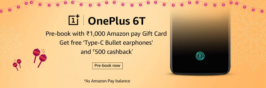 OnePlus 6T Pre-book offer