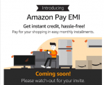 Cardless EMI using Amazon (Amazon Pay EMI) – Instant Credit up to ₹60,000