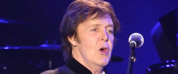 Sir Paul McCartney start european tour in Bologna, Italy. Nov 26th 2011