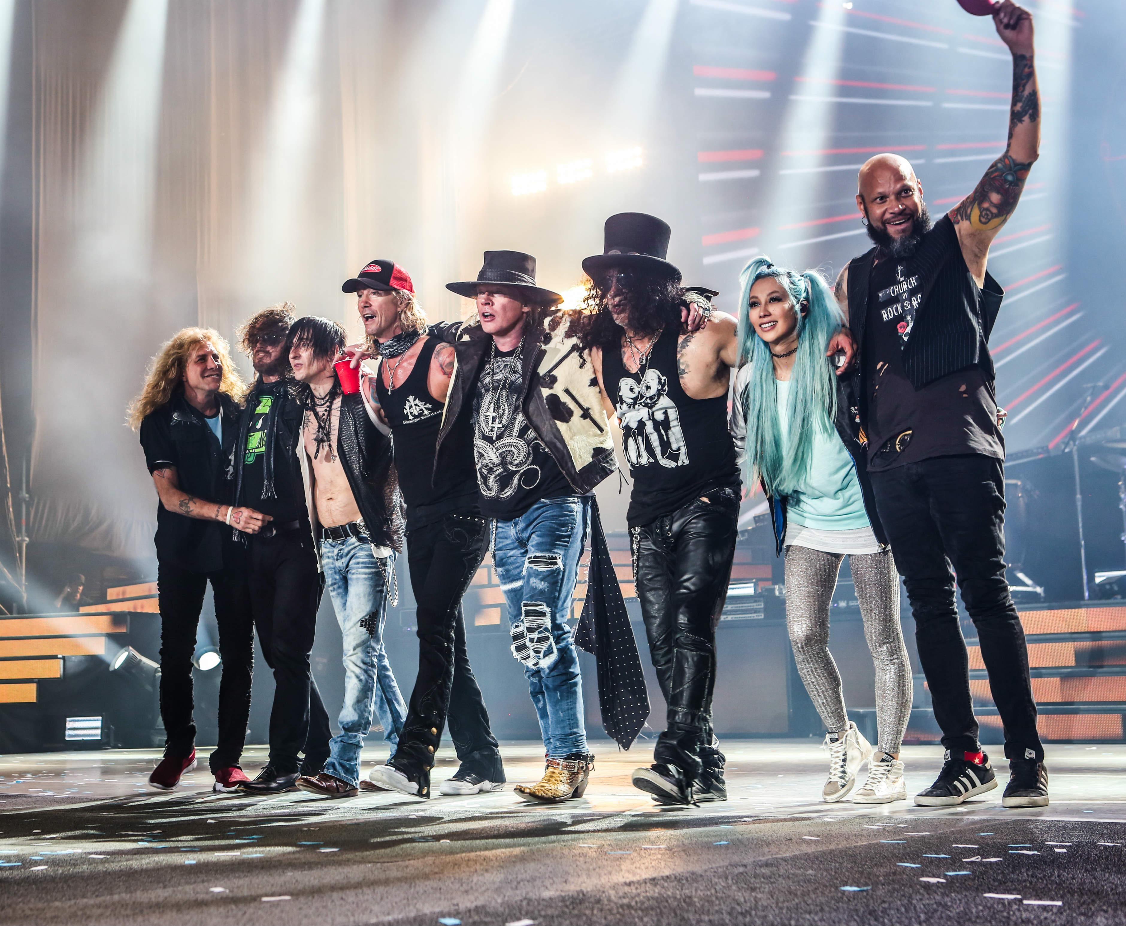 Banda reunida em show realizado em Buenos Aires. Foto: Divulgação/Katarina Benzova