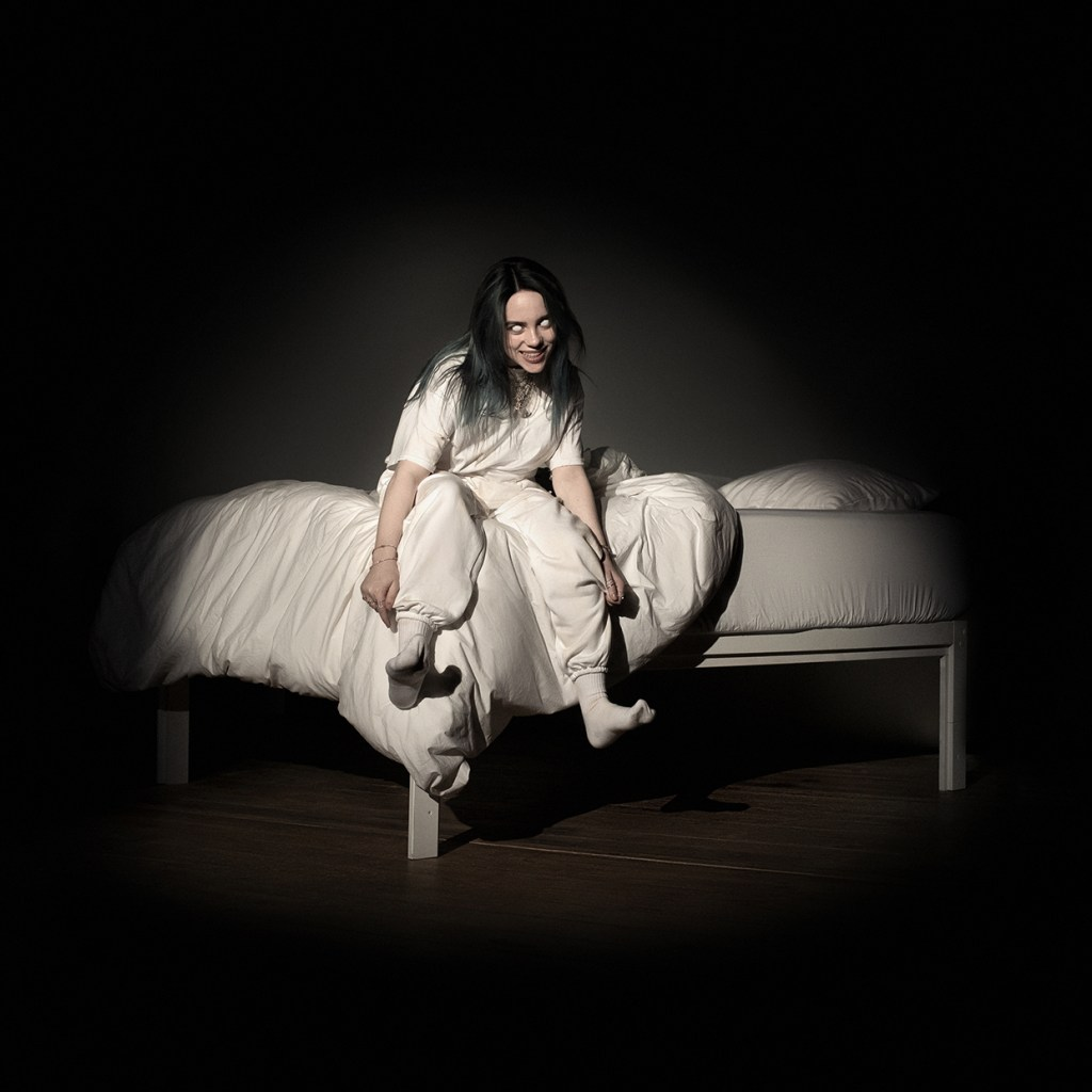 "Capa do álbum ""When We All Fall Asleep, Where Do We Go?"" da cantora Billie Eilish."