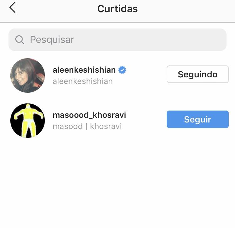 Curtida da empresária de Selena Gomez no Instagram