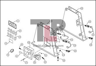 Skid Loader Wiring Diagram Side Loader Wiring Diagram ~ Odicis