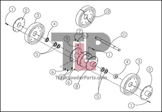 Double Axle Diagram Dana 35C Diagram Wiring Diagram ~ Odicis