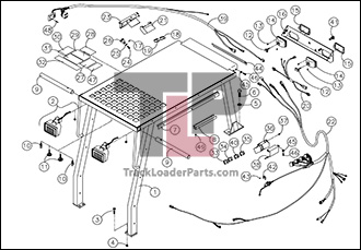 ASV 4810 OEM Parts Diagrams