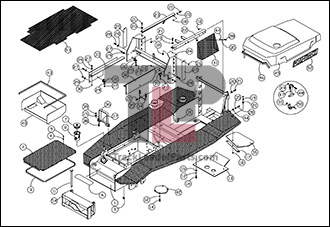 ASV HD4520 OEM Parts Diagrams