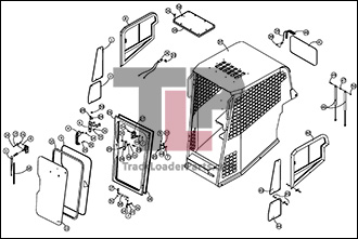 ASV PT100 02 A Cab ROPS Assembly Enclosed Optional?resize=330%2C221 terex pt 80 wiring diagram chevrolet wiring diagrams, peterbilt terex pt80 wiring diagram at nearapp.co