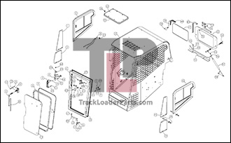 ASV PT50 OEM Parts Diagrams