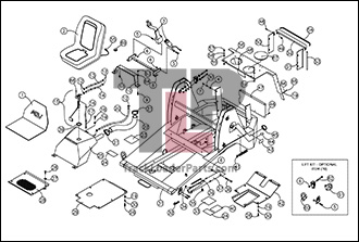 ASV RC30 OEM Parts Diagrams