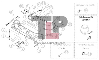 ASV RC50 OEM Parts Diagrams