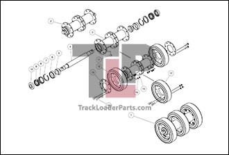 ASV RC85 OEM Parts Diagrams