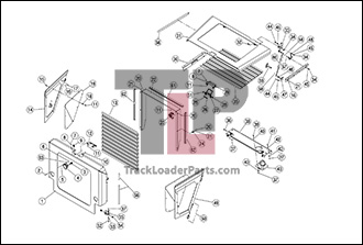 Terex PT110 Forestry OEM Parts Diagrams