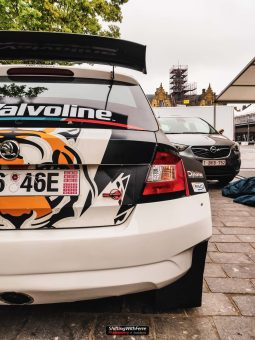 Shifting With Ferre YPres Rally