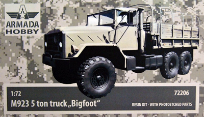"M923 5t truck ""Bigfoot"" - Click Image to Close"