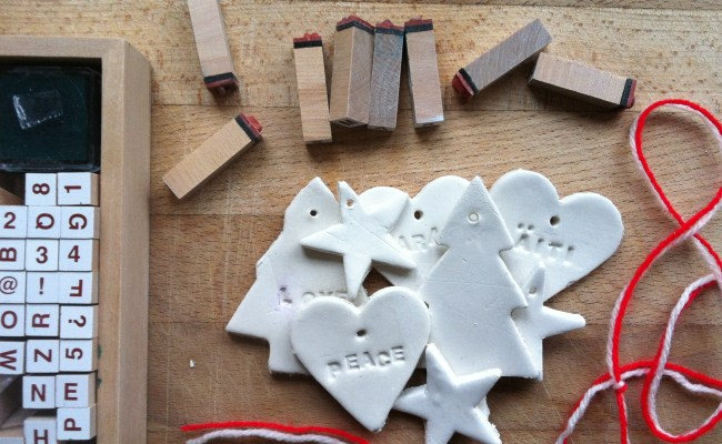 Clay Gift Tags Lifestyle Craft Music And Diy