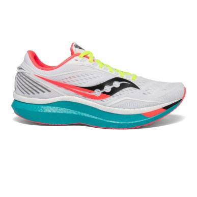 saucony endorphin speed - training in carbon fibre shoes