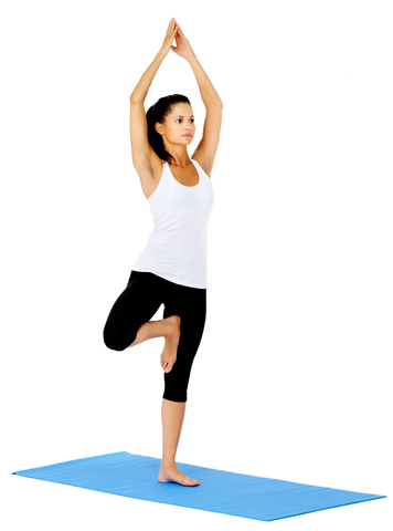 Track Yoga - Tree pose