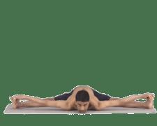 Wide Legged Forward Bend Yoga
