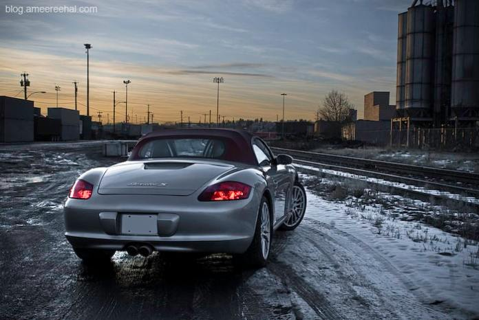 2008 Porsche BoxsterS RS60 Spyder Review amee reehal