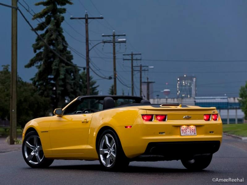 2011 Chevrolet Camaro SS Convertible Review