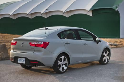 2012 Kia Rio SX Sedan Review