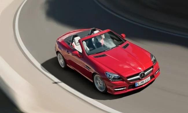 2012 Mercedes-Benz SLK 250 Review