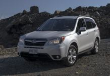 2014 Subaru Forester Review white front profile