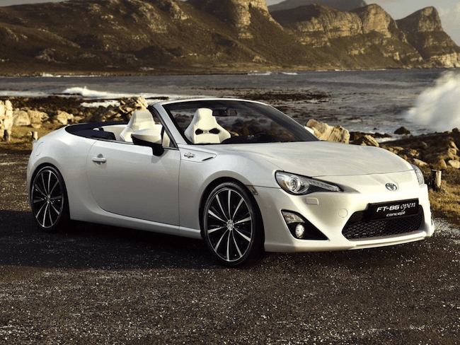 2014 Toyota FT 86 front grill