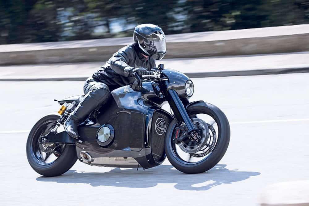Lotus C-01 Motorcycle rolling
