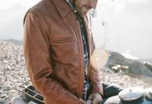 Whiskey Steerhide Moto Jacket