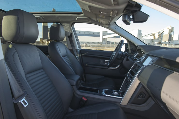 2016 Land Rover Discovery Sport HSE LUX-8