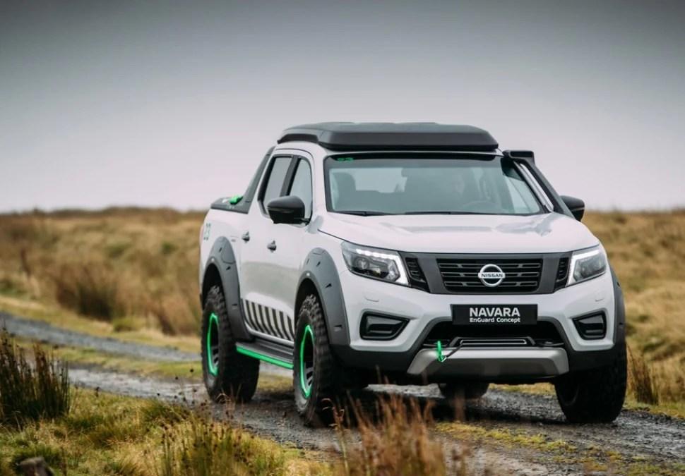 Nissan Navara EnGuard Concept Rescue Truck front