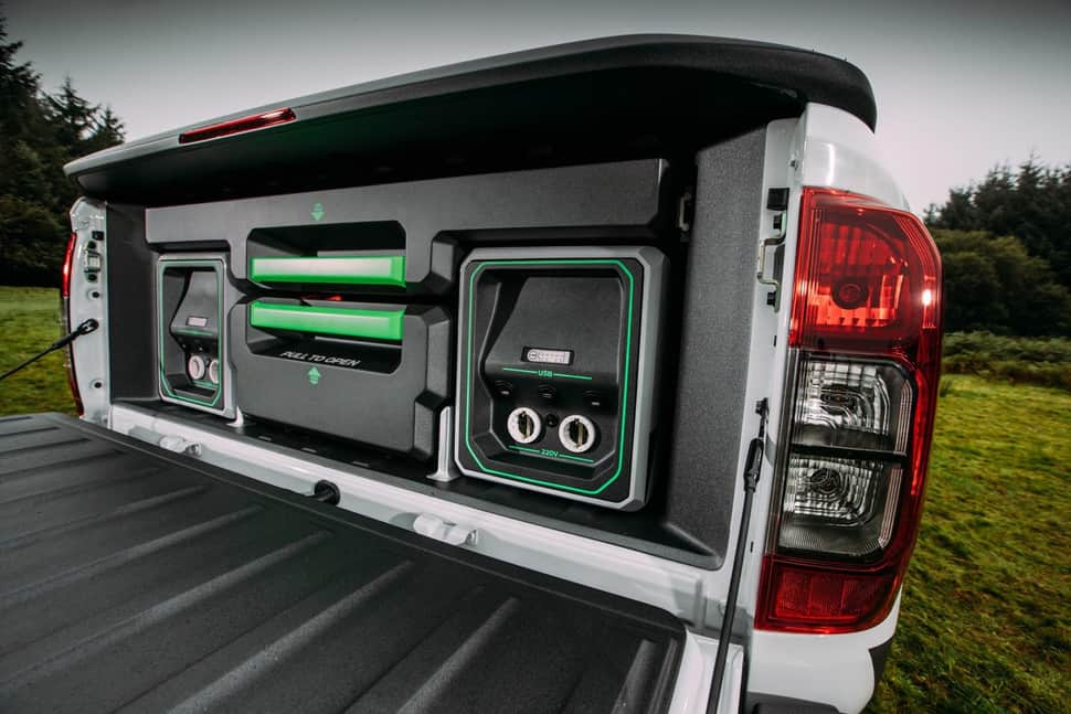 Nissan Navara EnGuard Concept Rescue Truck rearbed