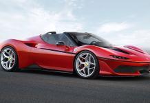 Ferrari J50 front