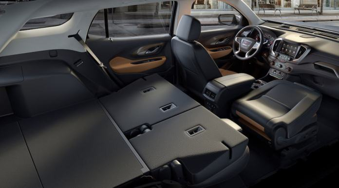 2018 All-New GMC Terrain SLT Interior – Fold flat seats