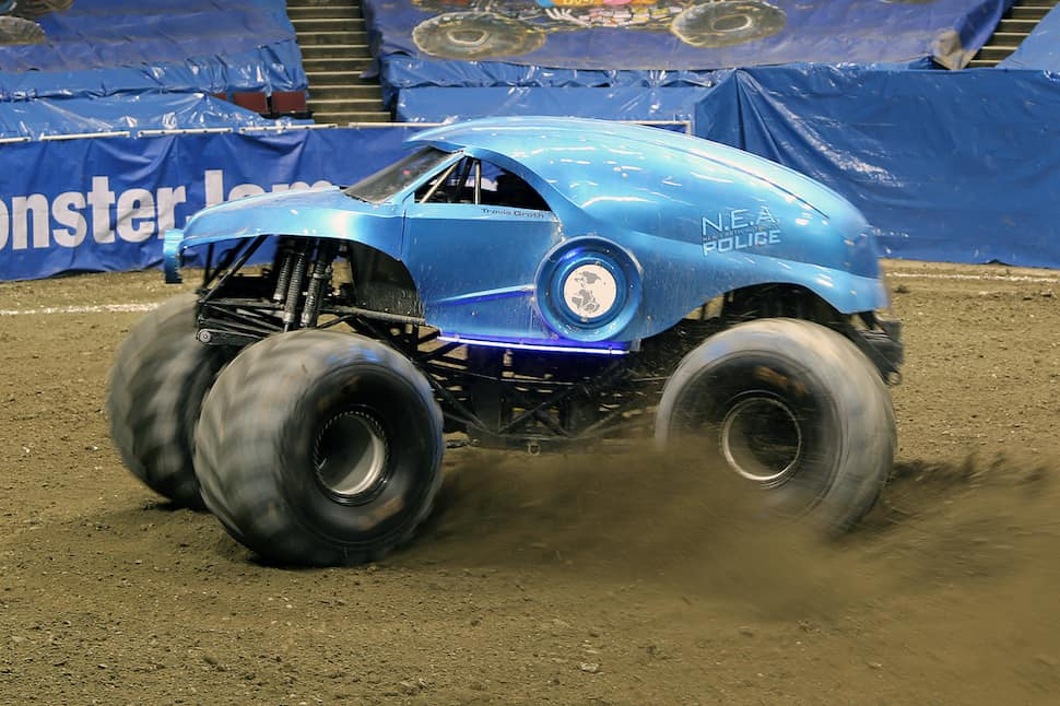 Day As a Monster Jam Judge