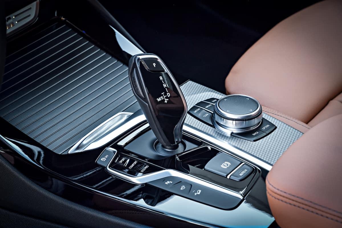 2018 BMW X3 centre control