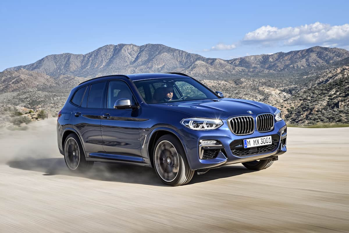 BMW Convertible bmw x3 cheap All-New 2018 BMW X3 & First-Ever M Performance Version Arrive in Fall