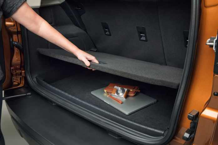 2018 Ford EcoSport Review rear cargo trunk