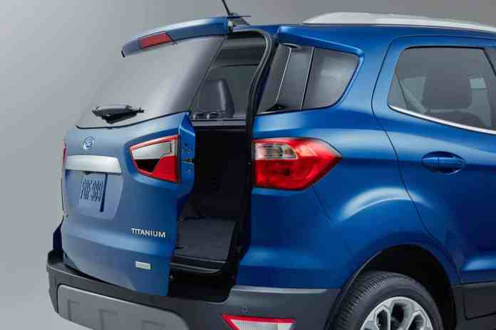 2018 Ford EcoSport rear wide open access