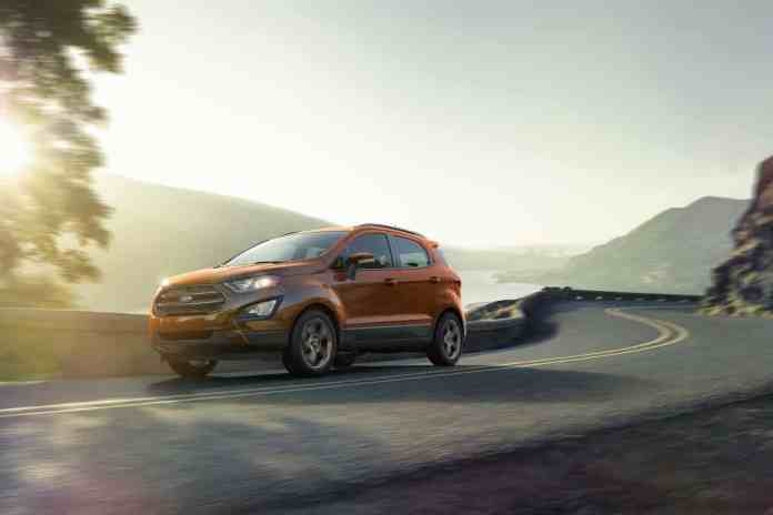 2018 Ford EcoSport rolling front view