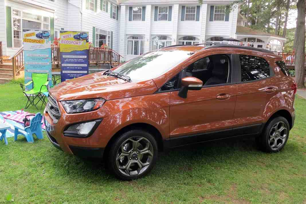 First Look: Ford's All-New 2018 EcoSport Compact SUV