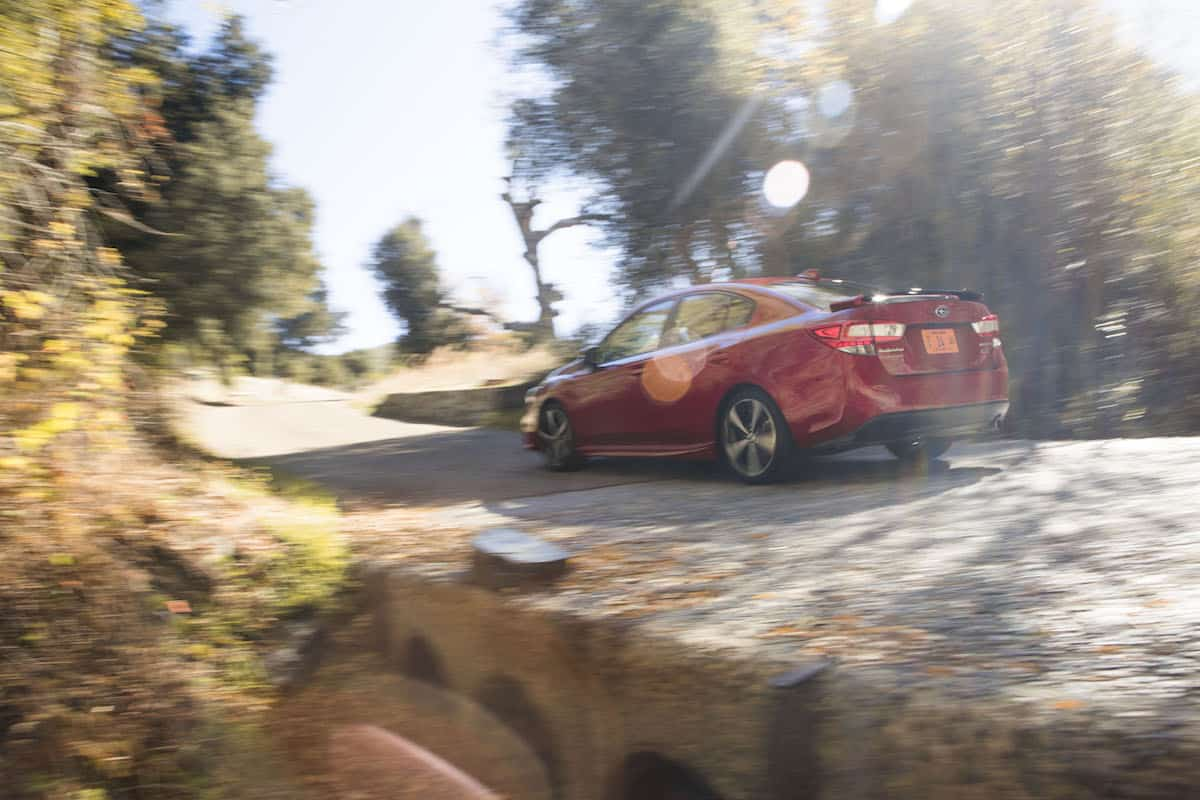 2017 Subaru Impreza rolling rear