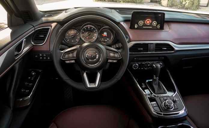 2017 Mazda CX-9 review interior