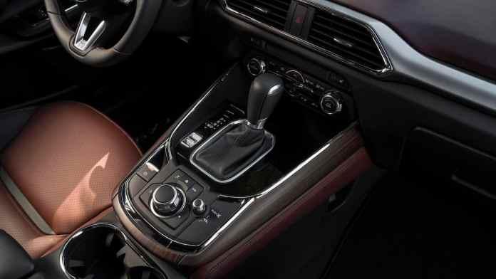 2017 mazda cx-9 review shifter centre console