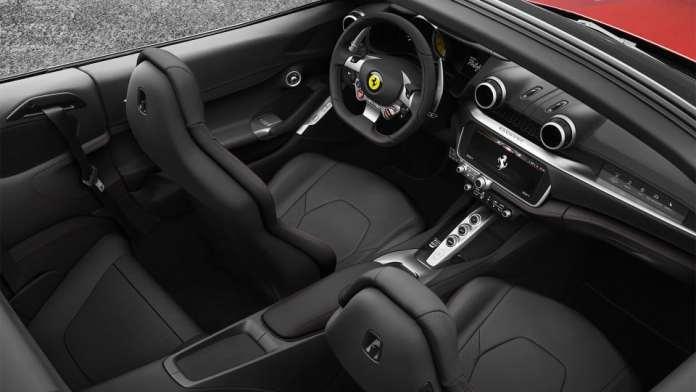 2018 Ferrari Portofino interior