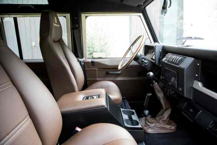 1991 SHACKLETON Defender D110 Adventure Edition by Arkonik interior