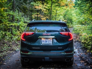 2018 GMC Terrain rear