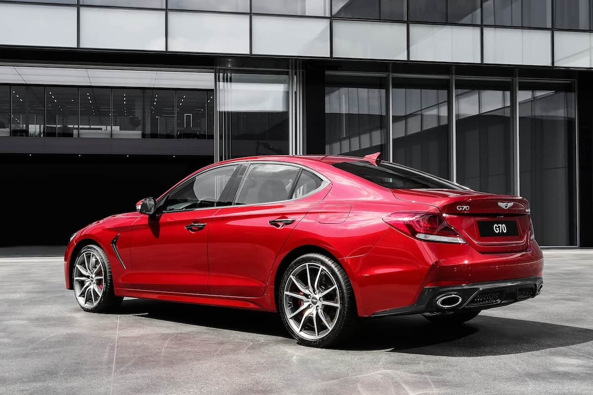 2018 genesis g70 sedan 5