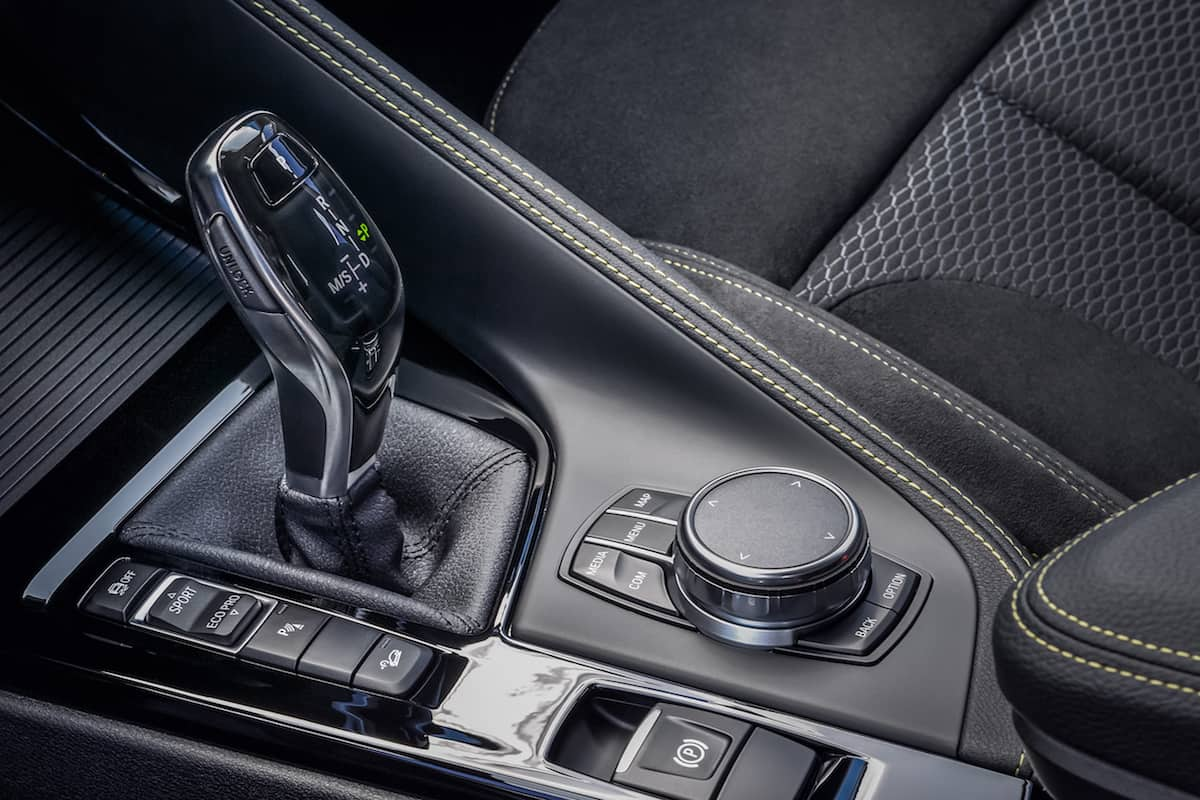 2018 bmw x2 crossover shifter